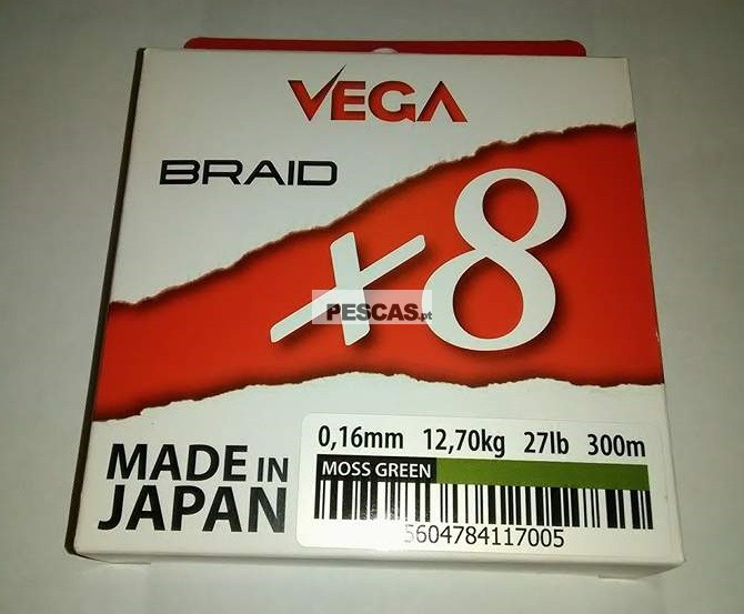 VEGA BRAID X8 300 MT