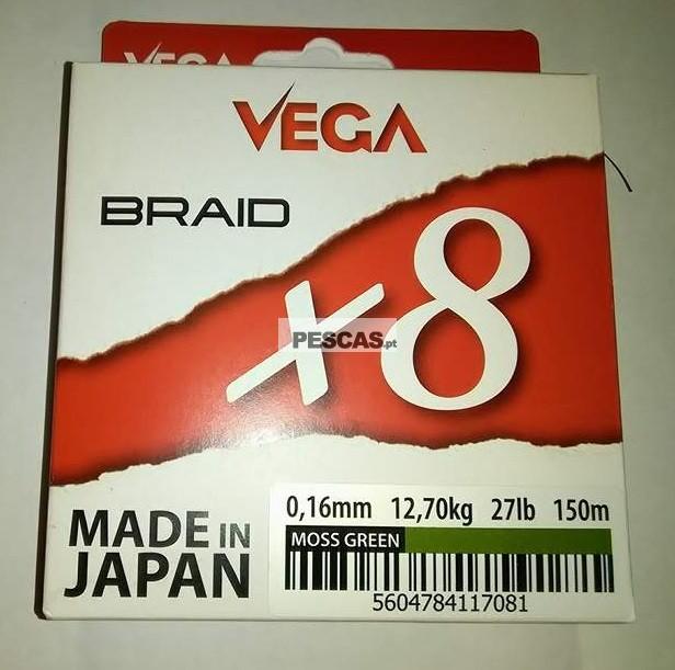 VEGA BRAID X8 150 MT