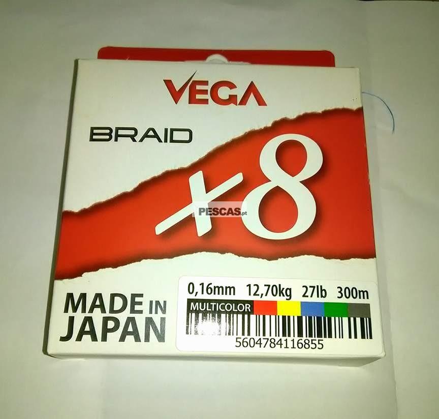 VEGA BRAID X8 MULTICOLOR 300 MT