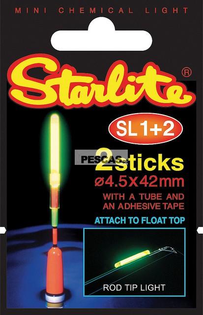 PACK DE 10 UNIDADES STARLITE SL1+2