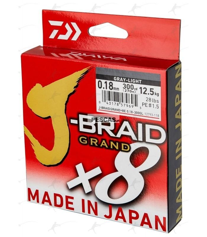 Fio Daiwa J Braid Grand X8 275m