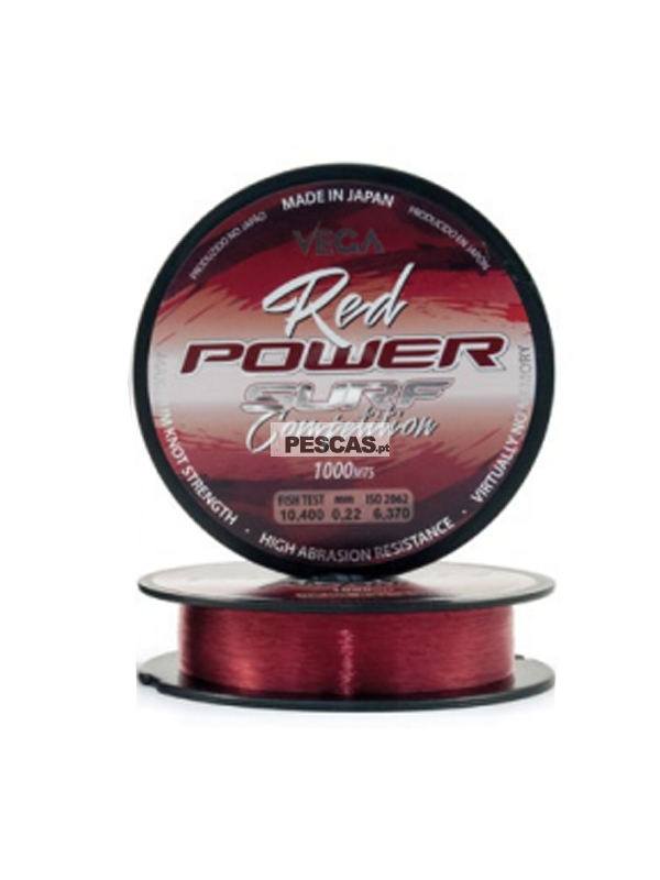 Fio Vega Red Power Surf Competition - Bob.1000mt