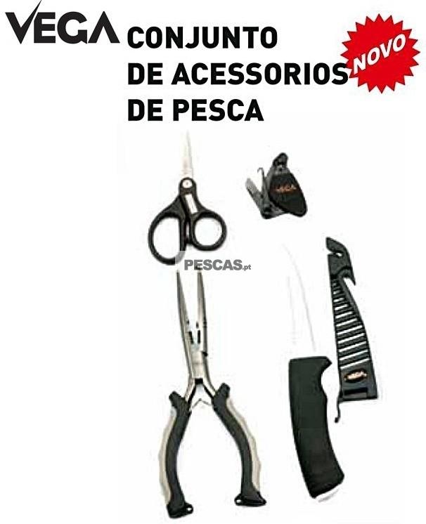 VEGA KIT DE ACESSÓRIOS PARA PESCA