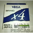 VEGA BRAID X4 135 MT