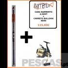 CANA BARRENTO 4,50MT + CARRETO BULLDOG 8000