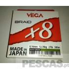 VEGA BRAID X8 300 MT
